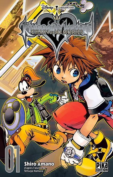 Kingdom Hearts Chains of Memories Tome 1