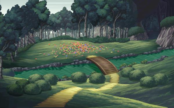 La Forêt des Nains x chi