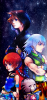 Sora, Riku et Kairi