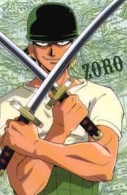 Les personnages de l'équipage du chapeau de paille : Zoro