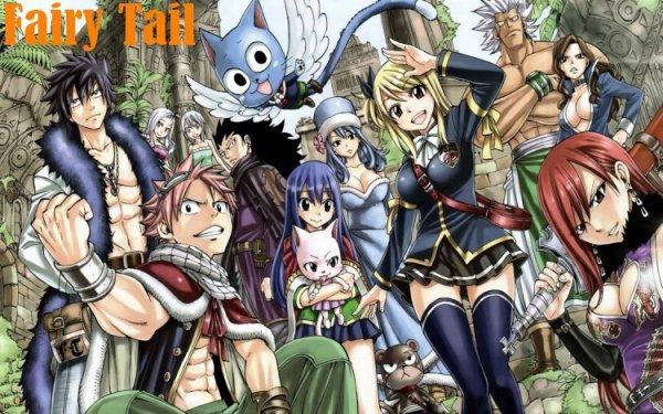 Résumé Fairy Tail.