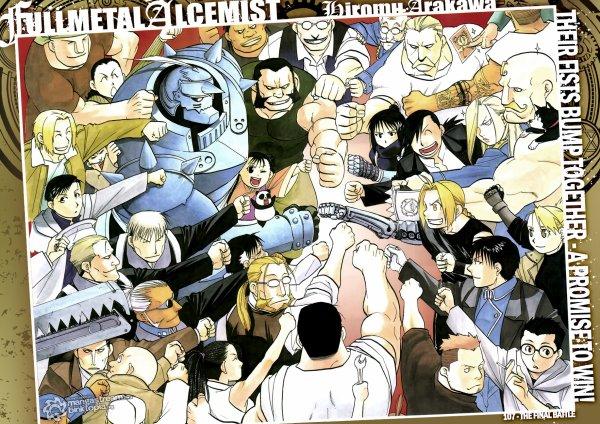 Résumé Fullmetal Alchemist.
