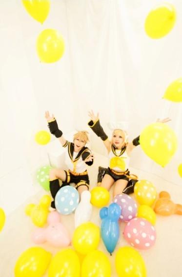 Vocaloid, Rin & Len.