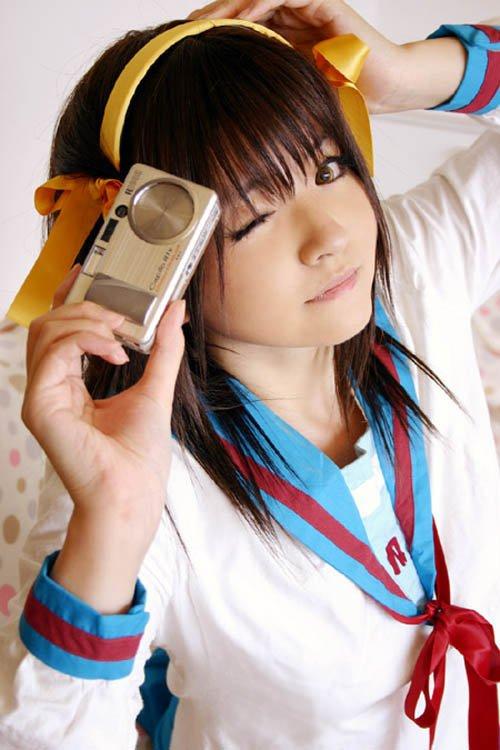 La mélancolie d'Haruhi Suzumiya.