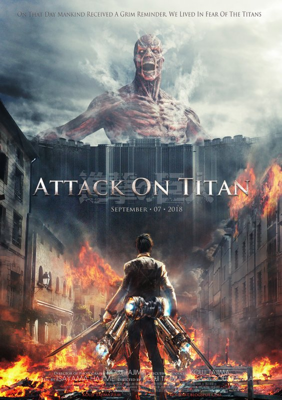 Résumé Shingeki No Kyojin, Attack On Titan.