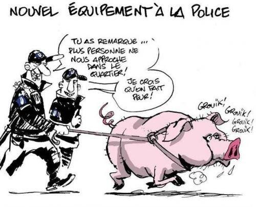la nouvelle police !!!