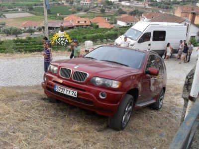 voisi mon x5 sur une monter au portugal
