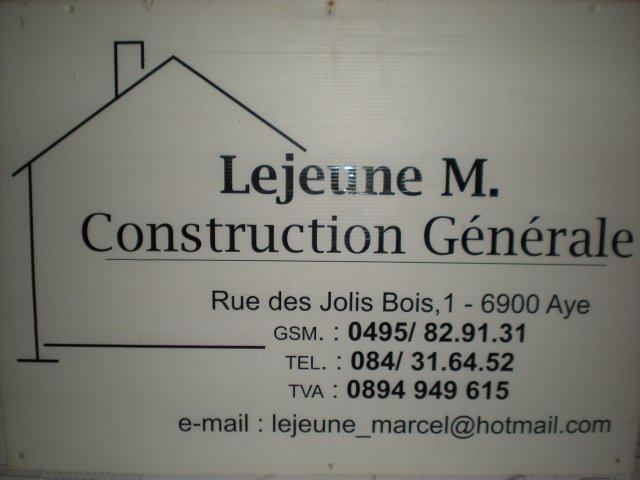 Blog de construction-Lejeune-M
