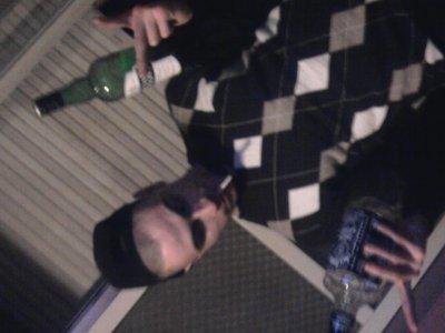 moi et mon frere a noel ques des alcolique qu on est xD