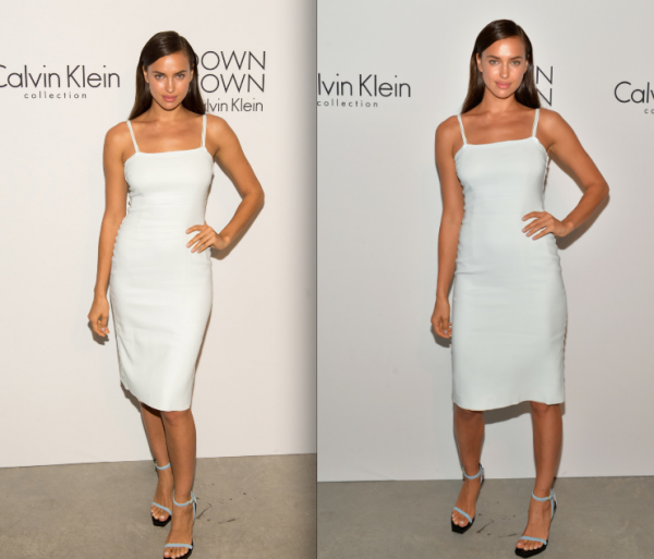 Le 12 Septembre:  Irina à l'after party de Calvin Klein. Pour moi c'est un FLOP.