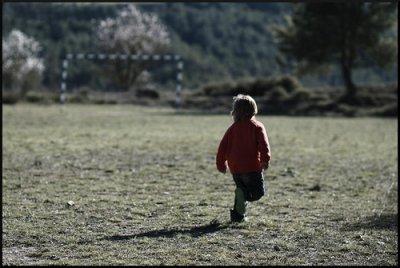 L'enfance, un monde merveilleux et sans problème.