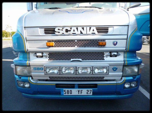 Scania Torpedo 580 v8 Excellence Blue Spirit ( Photographe Julien Devassine )