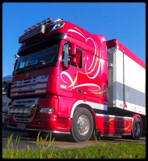 Daf xf 105 Transports de la vallée du steir ( Photographe Julien Devassine )