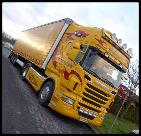 Scania R500 Jérome Transports ( Photographe Julien Devassine )