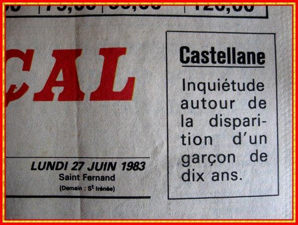 CASTELLANE (Alpes-de-Haute-Provence)