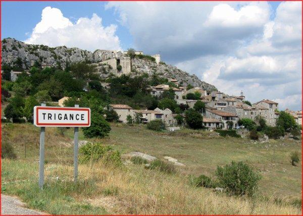 TRIGANCE (Var) , dans les gorges du Verdon.