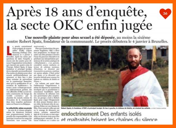 O K C  CHATEAU DE SOLEILS CASTELLANE...PROCES EN BELGIQUE ACTUELLEMENT 2016