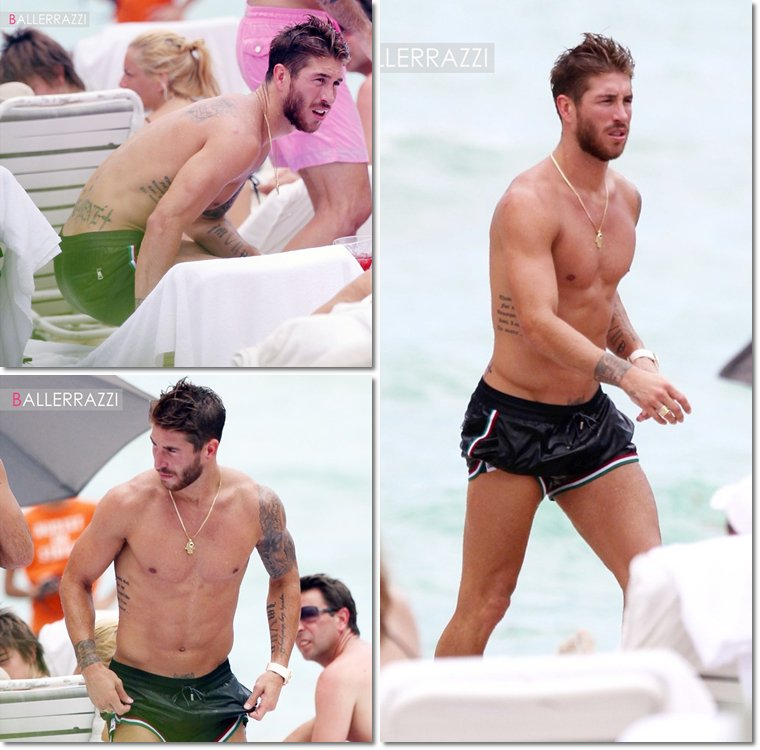 Photos twiiter de Sergio Ramos + Sergio à Miami
