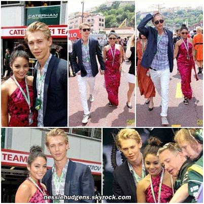 27/05/2012 : Vanessa Hudgens & Austin Butler: Monaco Grand Prix!