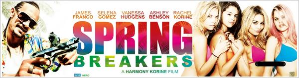 29/05/2012 : Photo personnelles de Vanessa sur Spring Breaker + La banniere du film