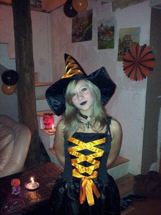 moi pour z'Halloween!