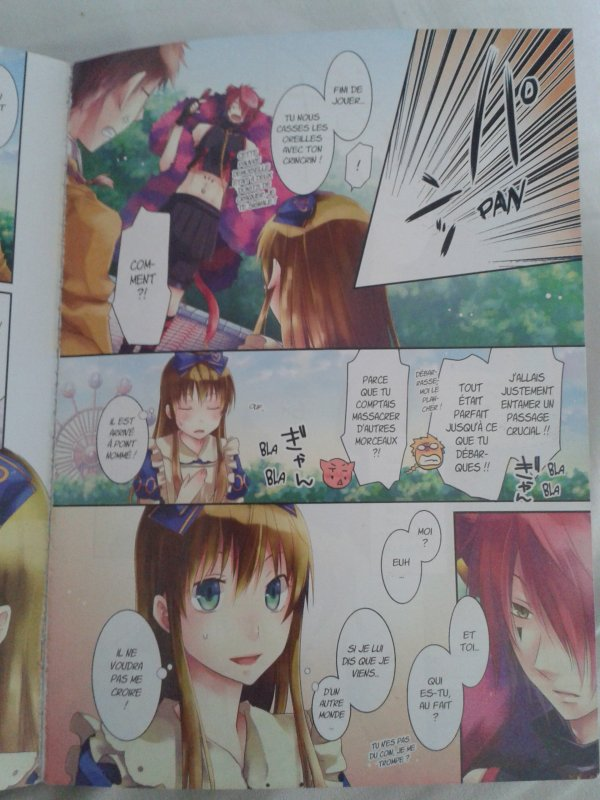 Alice au royaume de Trèfle scans Tome 1