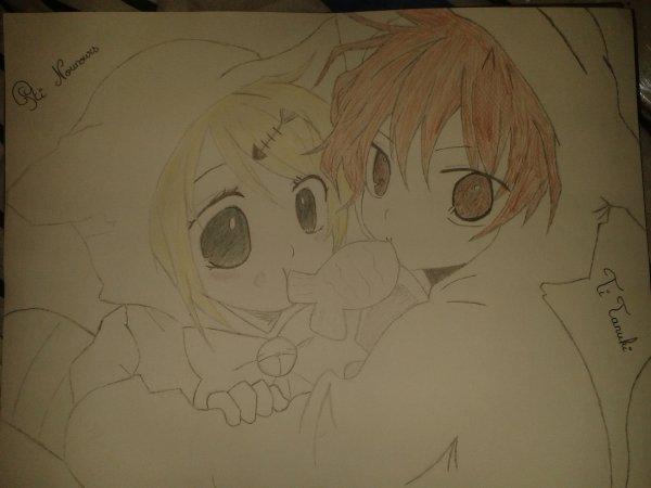 mon tanuki et moi <3