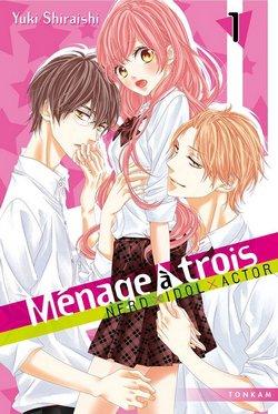 Critique livre : Ménage à Trois (Yuki Shiraishi)
