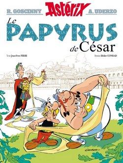 Critique livre : Astérix, Le Papyrus de César ( Didier Conrad / Jean-Yves Ferri)