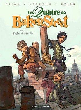 Les quatre de Baker Street : l'affaire du rideau bleu (Jean-Blaise Djian/Olivier Legrand/David Etien)