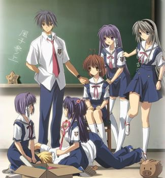 Clannad et Clannad after story