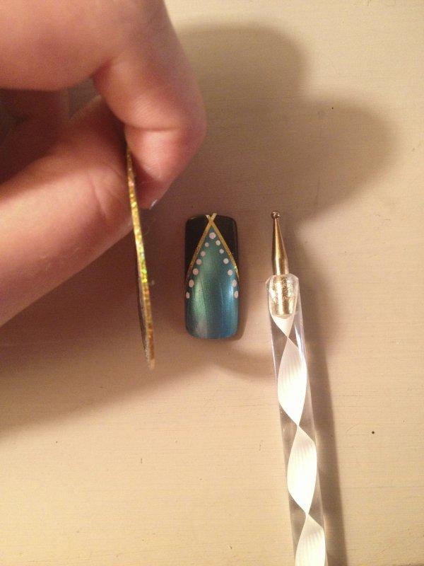 Deux petit Nail Art facile, à refaire ;)