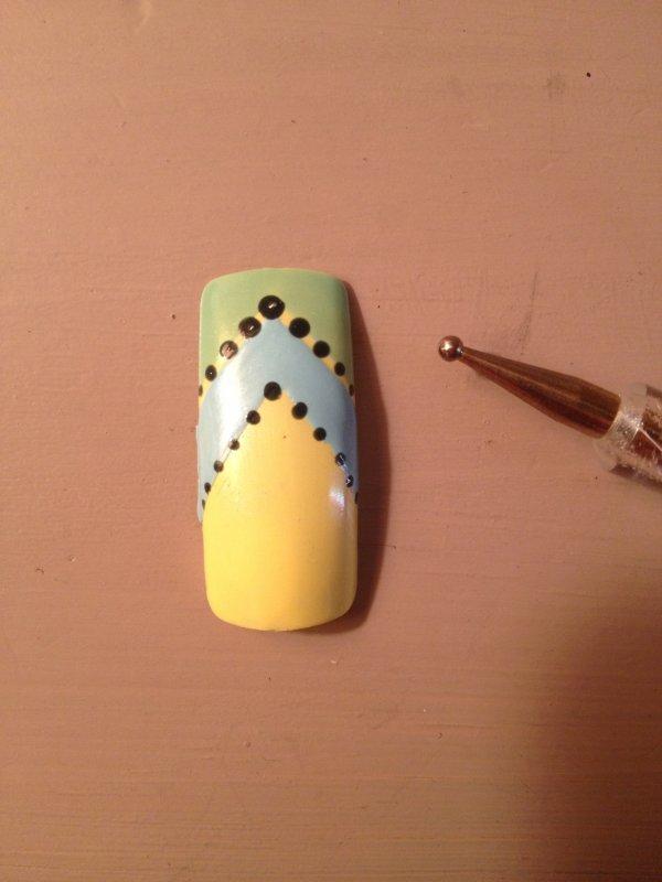 Le dernier des petit Nail Art Facile ;)