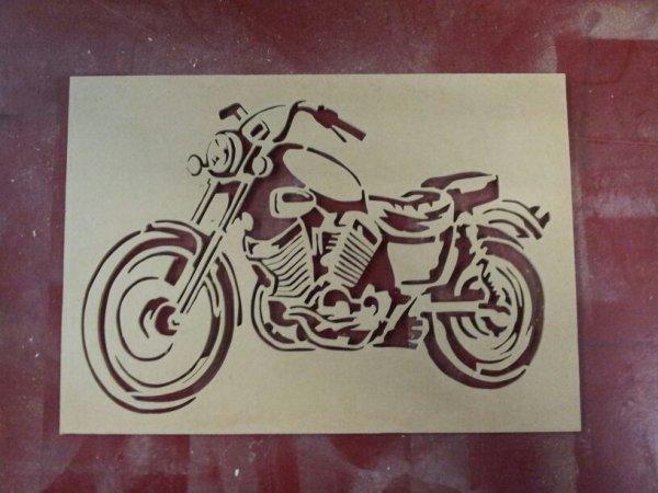 Une chtite moto