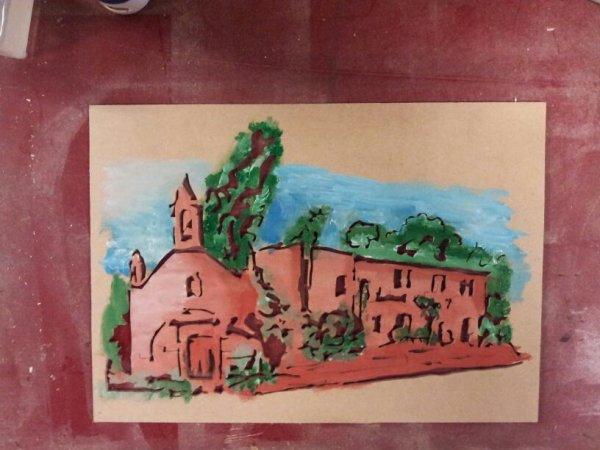 Chantournage et peinture