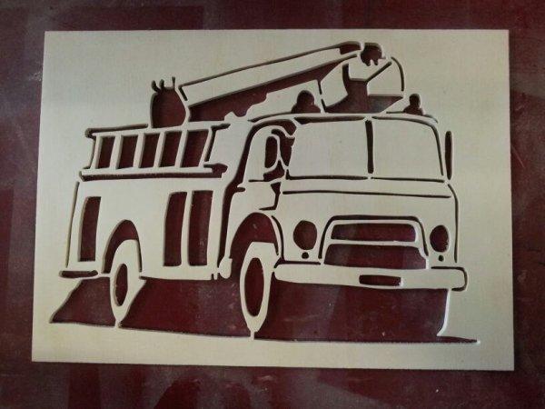 Camion de ponpier
