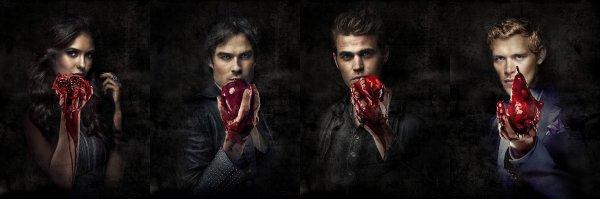Vampire Diaries, ils ont soif d'amour, de passion et ... de sang!