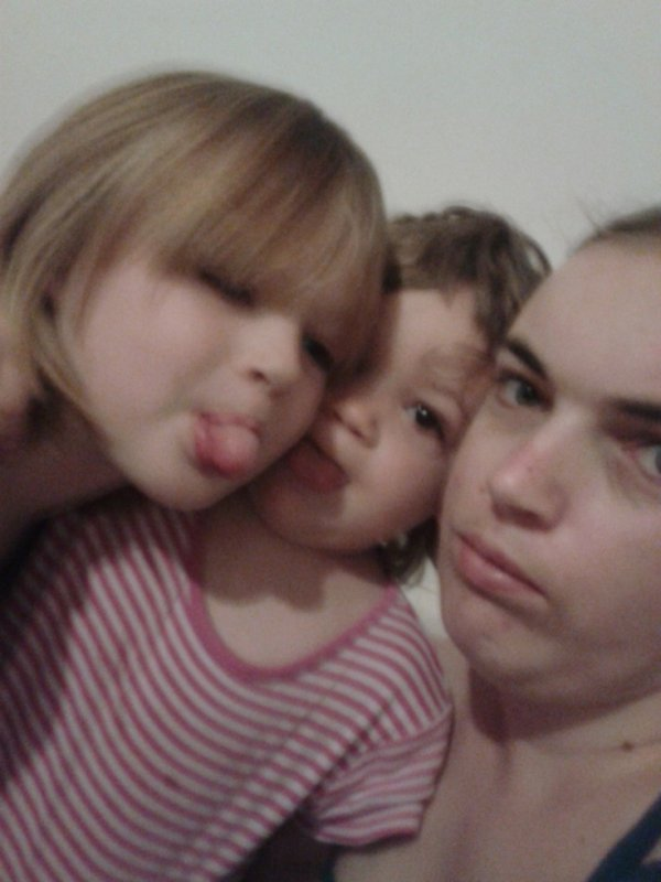 moi avec mes enfants