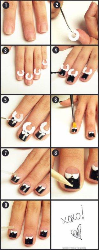 Nail art chique !