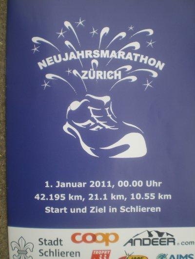 Bonne Année de Zürich !