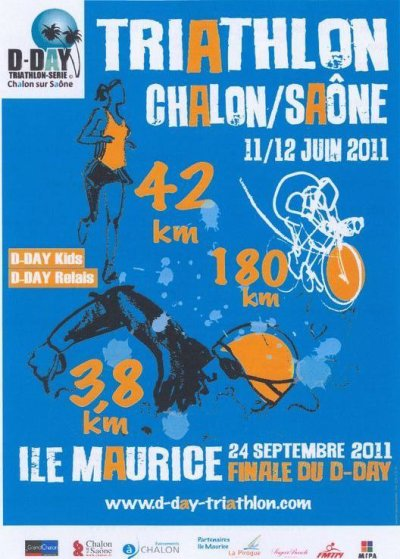 D-Day - Triathlon Longue distance à Chalon-sur-Saône !
