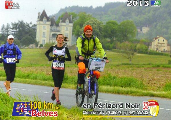 Championnat de France des 100 km à Belvès (24) ce 27 avril 2013