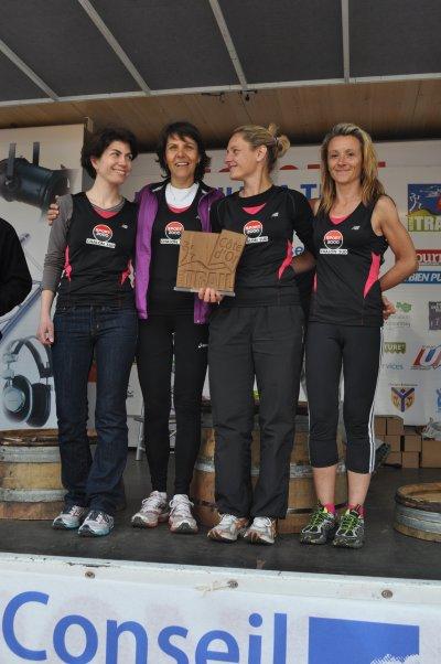 Ultra Trail de Côte-d'Or : le team féminin de Sport 2000 Chalon à la Une !