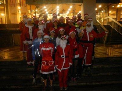 Running des Pères Noël