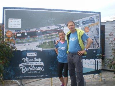1er marathon de Bordeaux