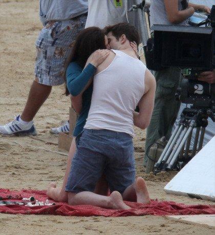 Quelque photo du tournage de Breaking dawn