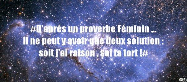 Provébe Féminin  ♥