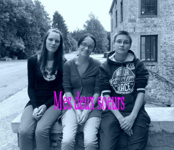 mes soeurs <3 kelly & prisous & moi
