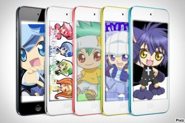 Le fond d'écran des portables de Ran,Miki,Yoru,Su&Dia