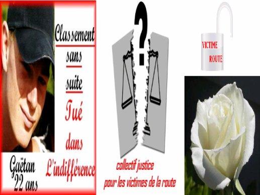 RASSEMBLEMENT NATIONAL POUR LES VICTIMES DE LA ROUTE DU 12 MAI 2012 PARIS 13 H RUE DU BAC